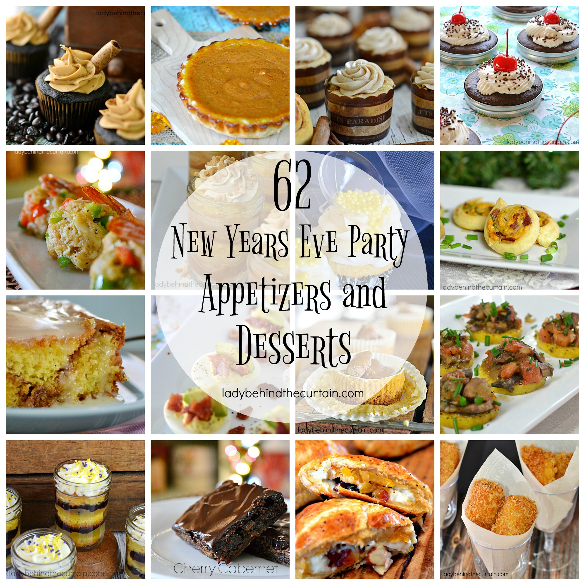 62 new year 39 s eve party appetizers and desserts for Appetizer ideas for new years eve party