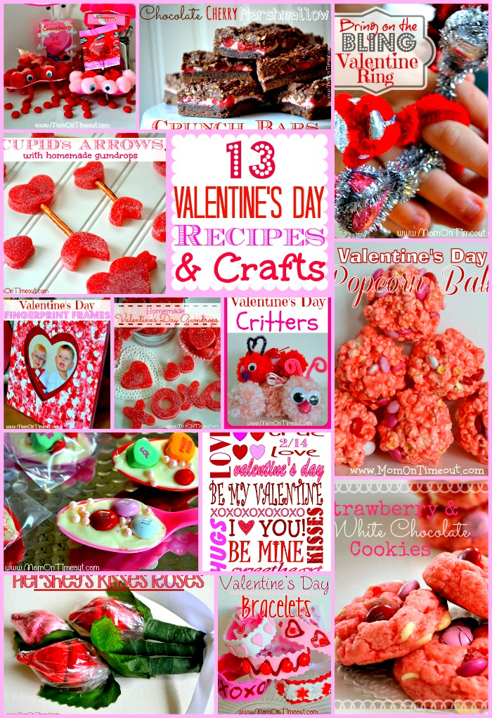 13 valentines day recipes and crafts - Valentines Day Recipe
