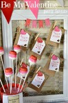 Be My Valentine Party Favors
