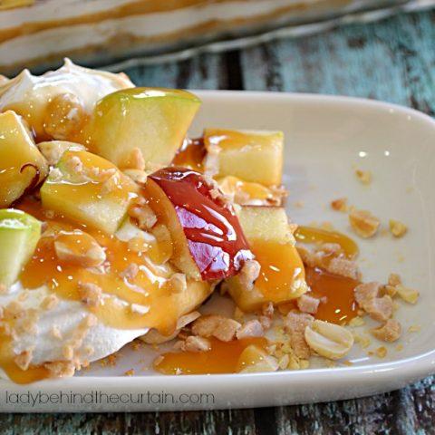 Caramel Apple Pudding Dessert