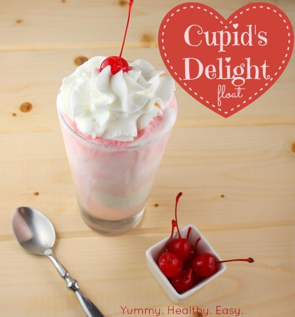 """Cupids Delight"" Cherry Float"