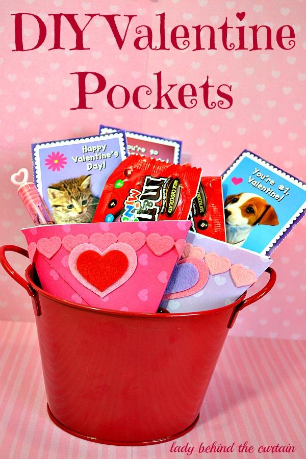 DIY Valentine Pockets