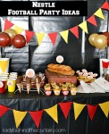 Nestle Football Party Ideas