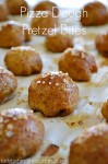 Pizza Dough Pretzel Bites