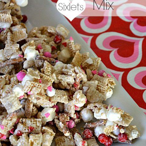Sixlets Valentine's Day Party Mix