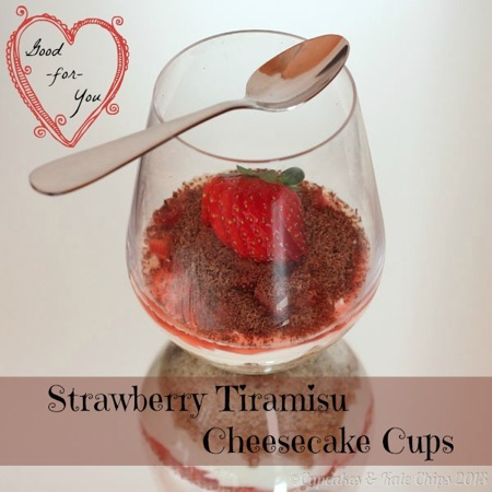 Strawberry Tiramisu Cheesecake Cups