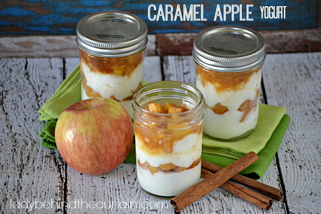 Caramel Apple Yogurt