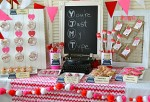 """You're Just My Type""  Valentine's Day Dessert Table"