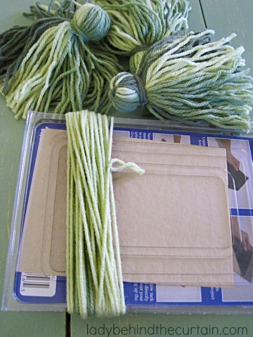 Making Grass from Yarn