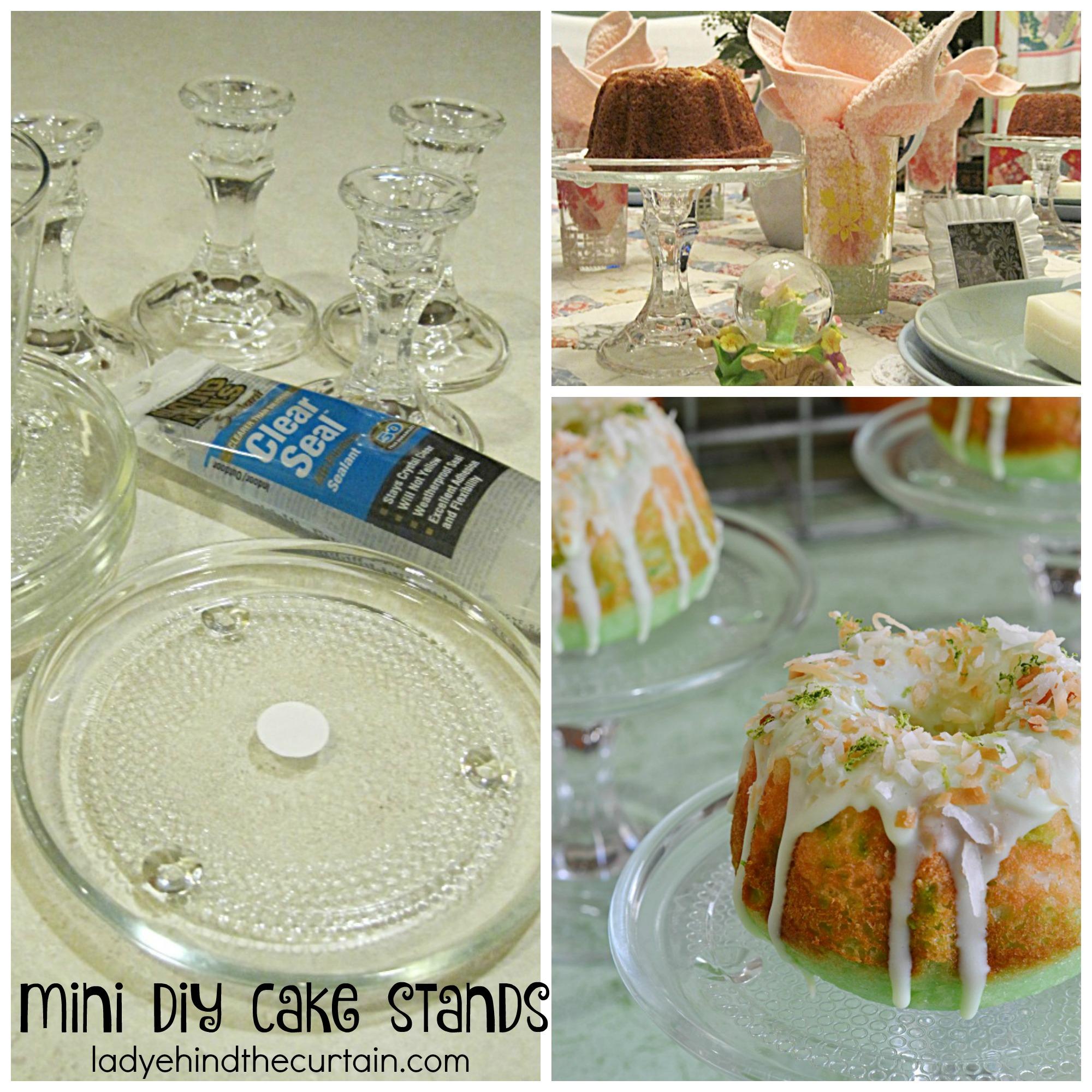 Mini Coconut Lime Bundt Cakes
