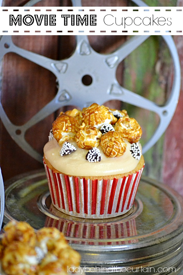 Movie Time Cupcakes - Lady Behind The Curtain