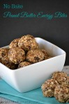 No Bake Peanut Butter Energy Bites