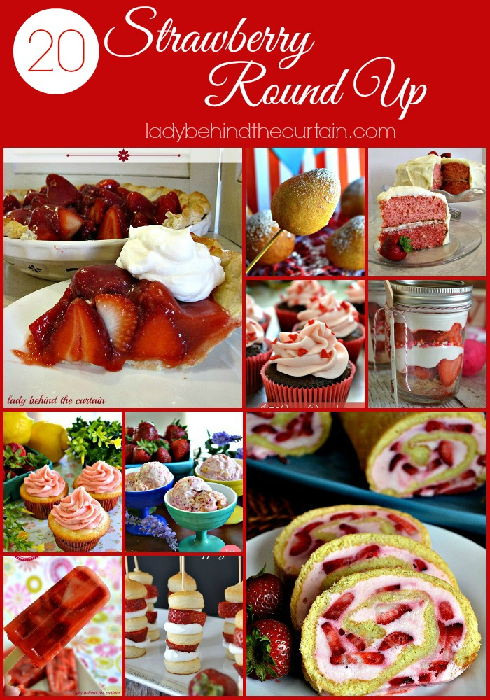 Strawberry Round Up - Lady Behind The Curtain