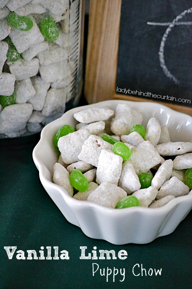 Vanilla Lime Puppy Chow - Lady Behind The Curtain