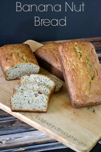 Banana Nut Bread - Lady Behind The Curtain