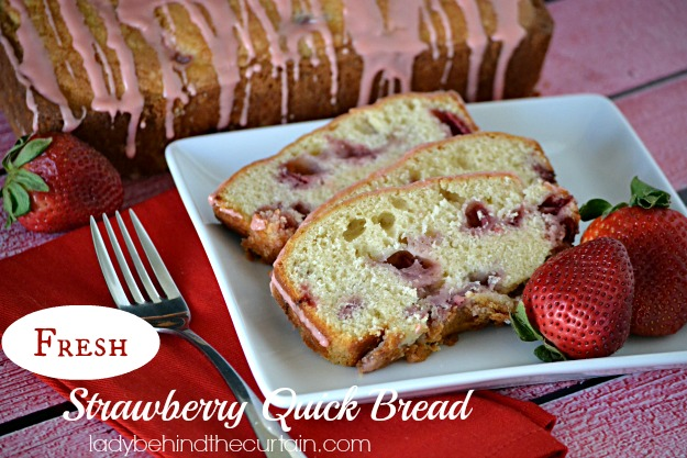 Strawberry Quick Drug Fresh Strawberry Quick Bread
