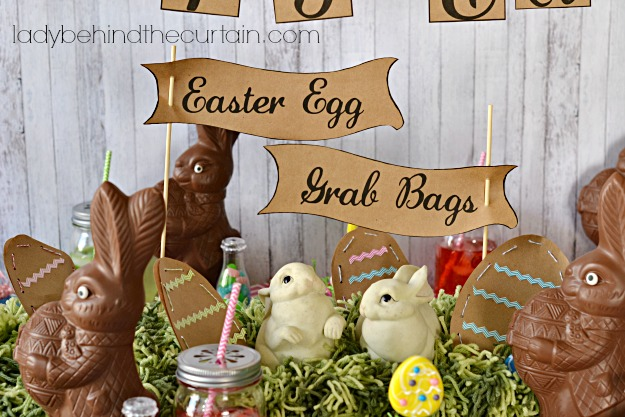 Grab Bag Easter Eggs - Lady Behind The Curtain