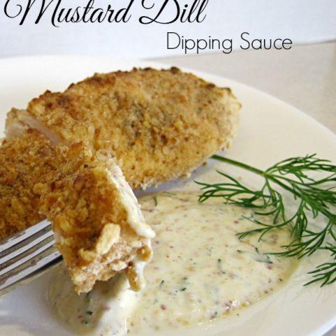 Mustard Dill Dipping Sauce