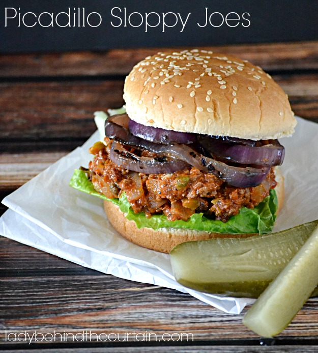 Picadillo Sloppy Joes - Lady Behind The Curtain