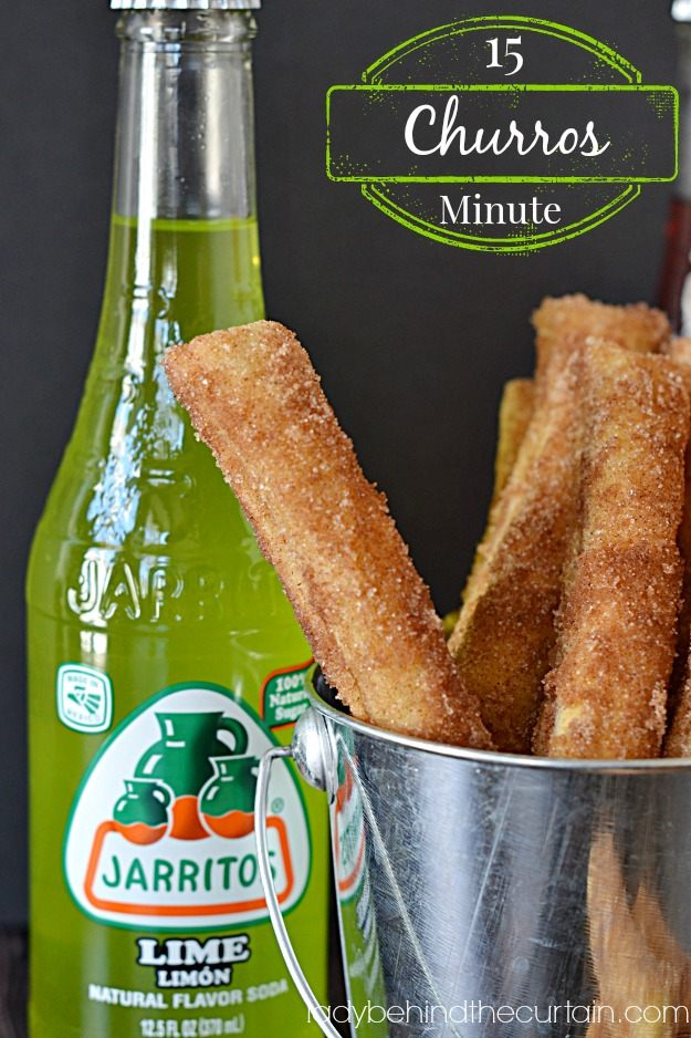 15 Minute Churros - Lady Behind The Curtain