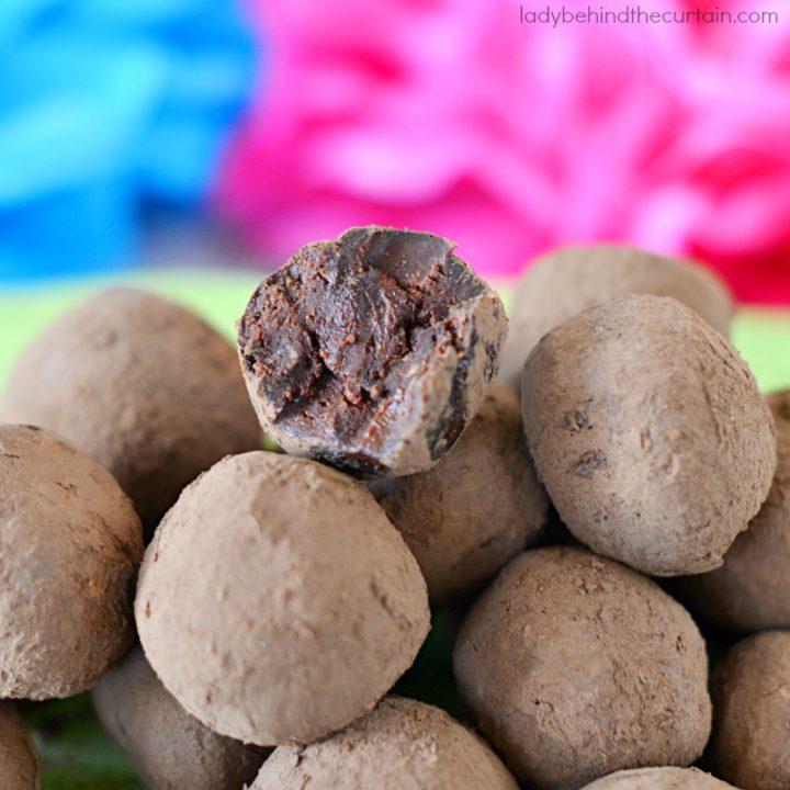 Ancho Chile Truffles