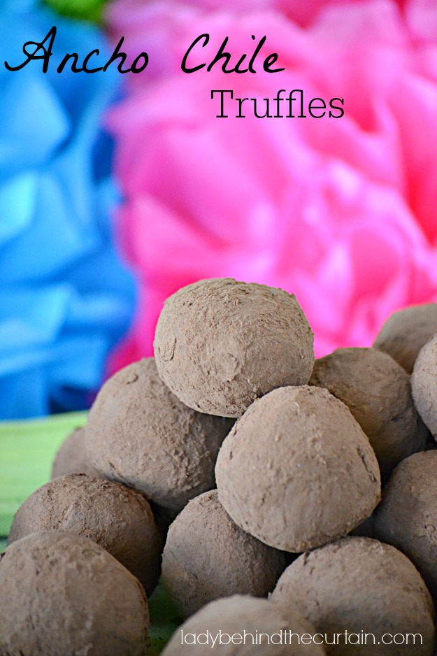 Ancho Chile Truffles - Lady Behind The Curtain