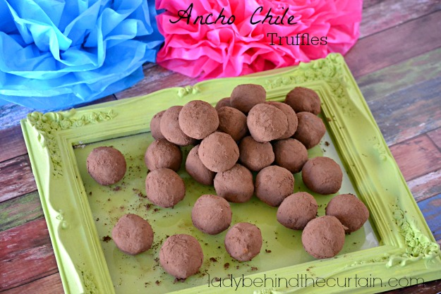 Ancho Chile Truffles