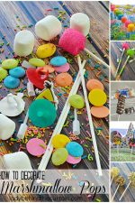 How to Decorate Marshmallow Pops