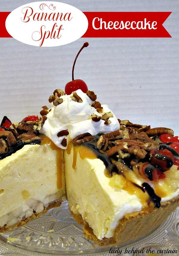 Lady-Behind-The-Curtain-Banana-Split-Cheesecake-11