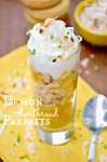 Lemon Shortbread Parfaits