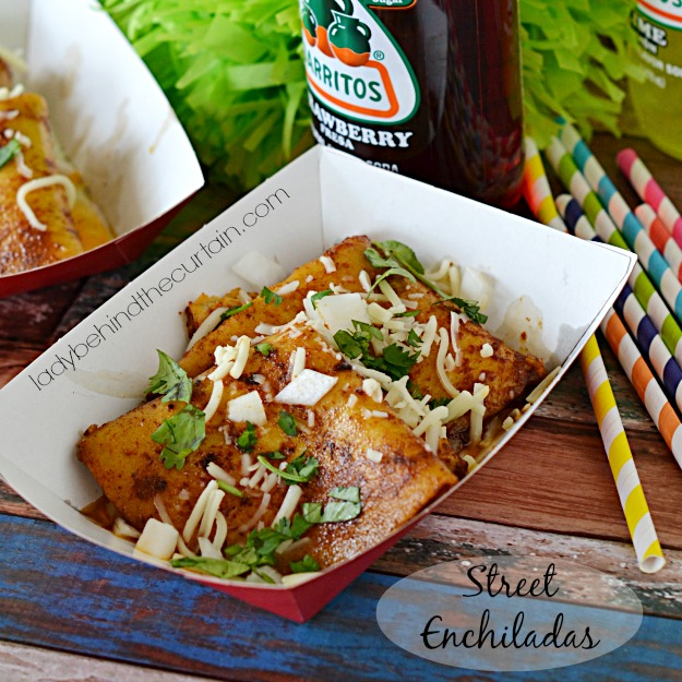 Street Enchiladas - Lady Behind The Curtain