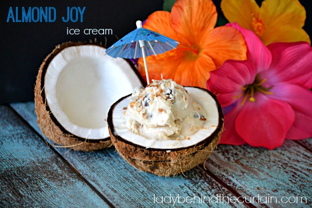 Almond Joy Ice Cream