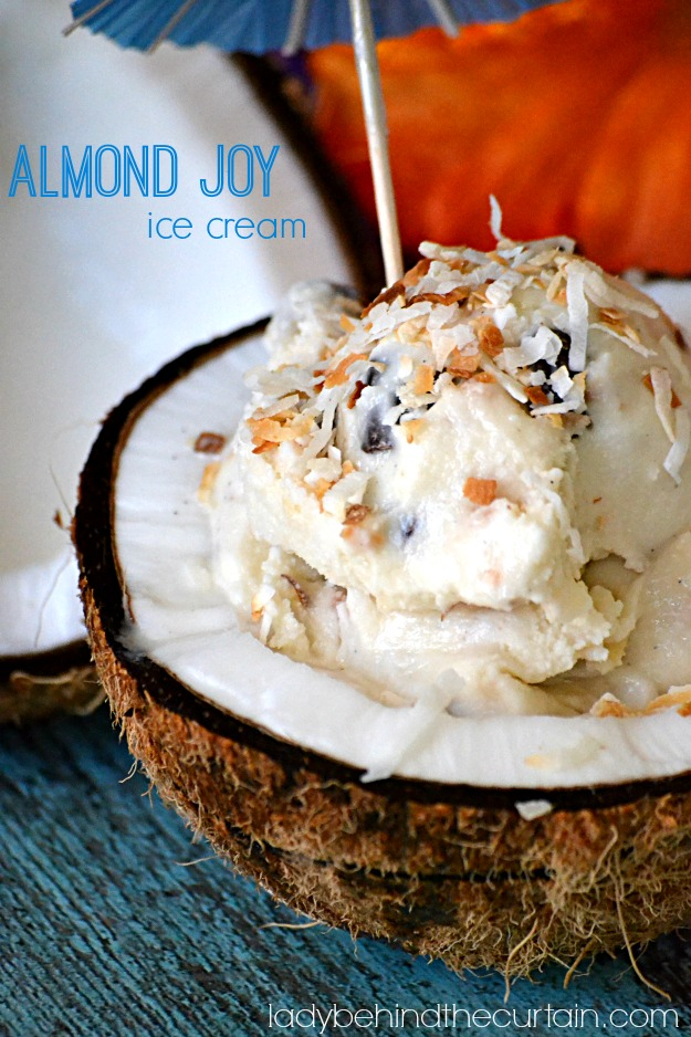 how to make almond charcoal ice cream