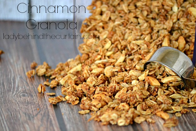 Cinnamon Granola - Lady Behind The Curtain