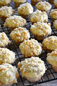 Creamer Mini Muffins - Lady Behind The Curtain