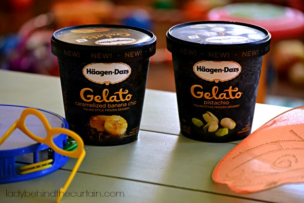 Flavorful Moments with Haagen-Dazs Gelato - Lady Behind The Curtain