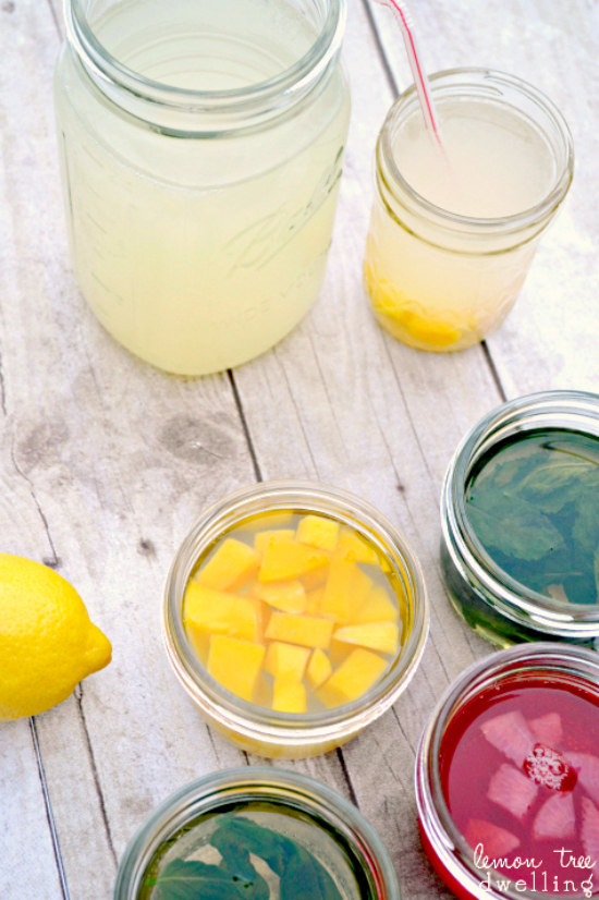 Flavored Simple Syrup - the perfect addition to your favorite summer ...