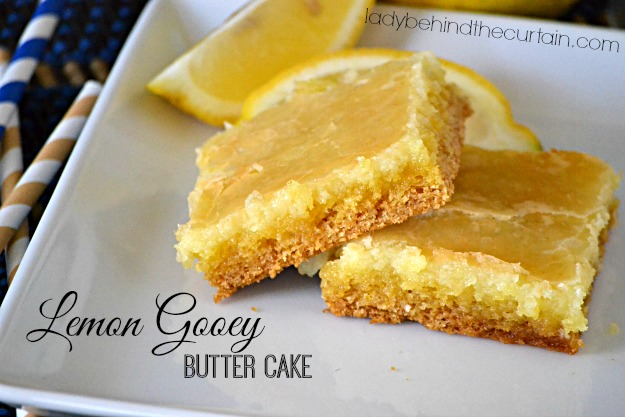 Lemon Cake Recipe Melted Butter