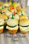 Mini Egg Salad Sliders