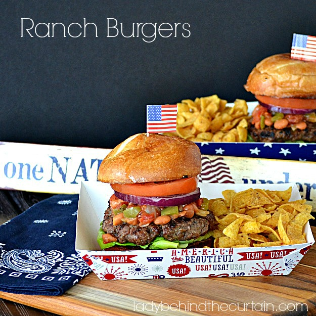 Ranch Burgers - Lady Behind The Curtain