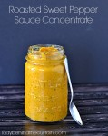 Roasted Sweet Pepper Sauce Concentrate - Lady Behind The Curtain
