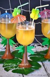 Sparkling Pineapple Slush Punch