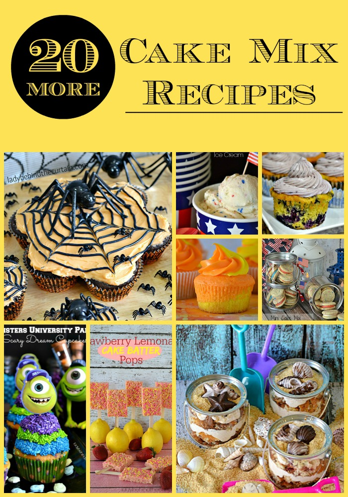 20 More Cake Mix Recipes - Lady Behind The Curtain