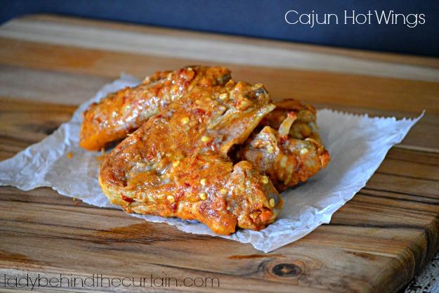 Cajun Hot Wings