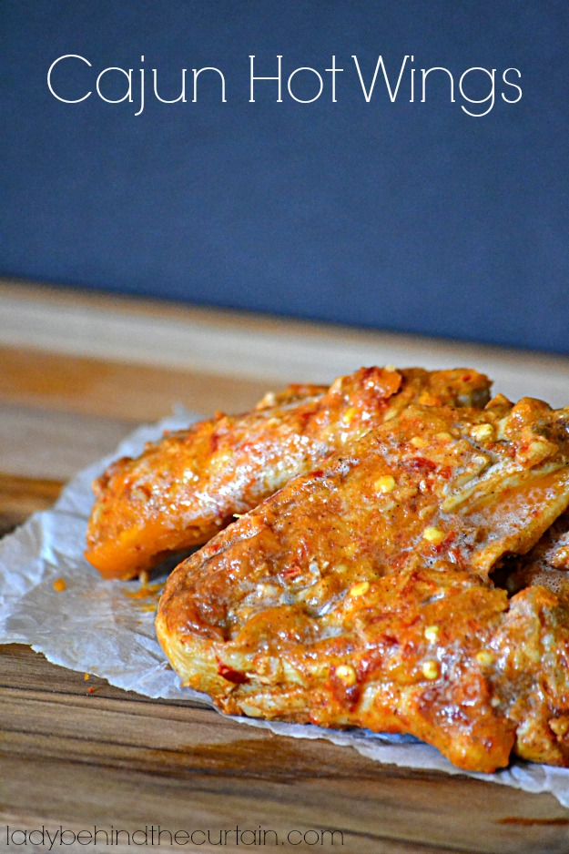 Cajun Hot Wings - Lady Behind The Curtain