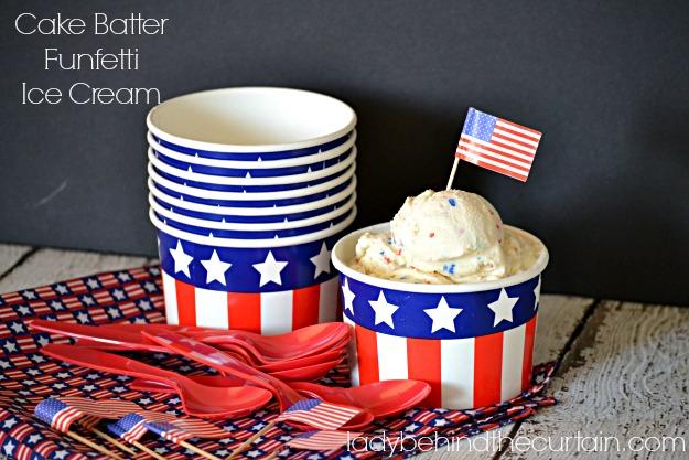 Cake Batter Funfetti Ice Cream