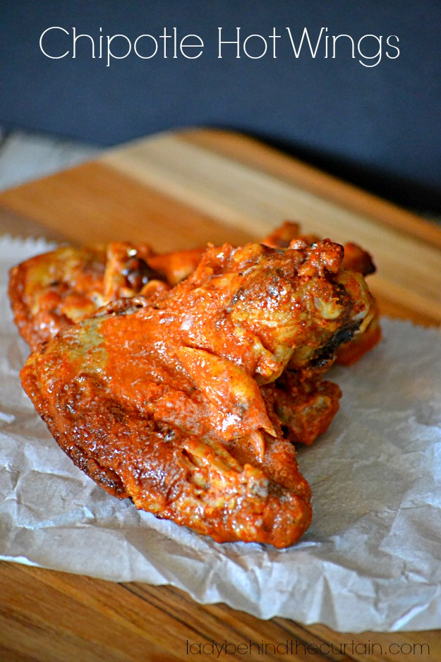 Chipotle Hot Wings - Lady Behind The Curtain