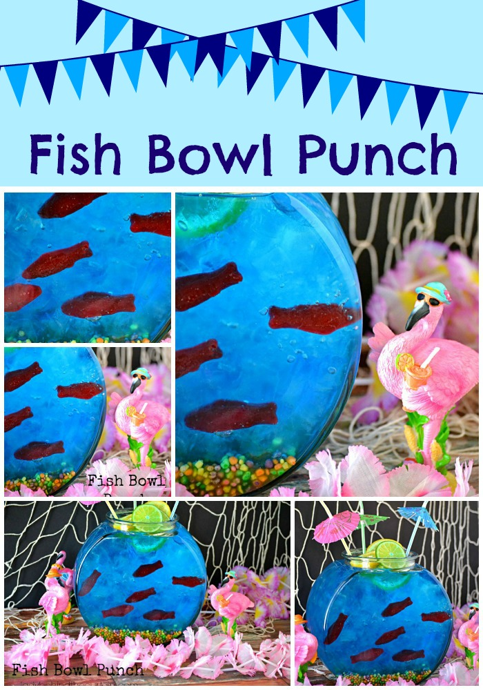 Fish Bowl Punch - Lady Behind The Curtain 10