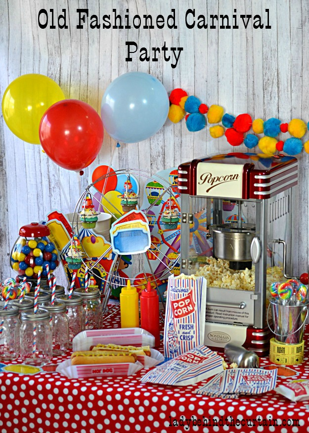 Old Fashioned Carnival Party Party In A Box Giveaway