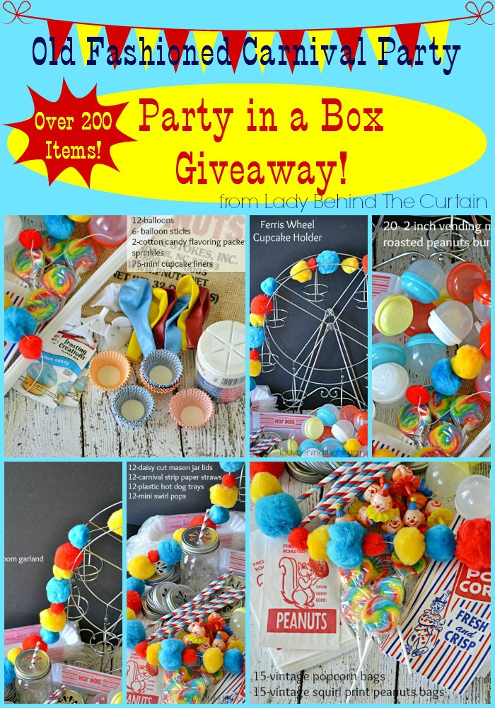 Old Fashioned Carnival Party Giveaway Hezzi D S Books